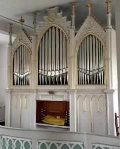 Orgel Kirche Dennheritz
