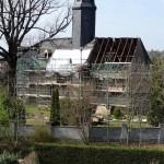 Außenarbeiten an der Kirche Niederschindmaas 2016