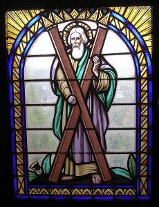 Fensterbild Kirch St. Andreas Glauchau