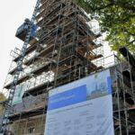 Außenarbeiten am Kirchturm Niederschindmaas 2016