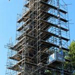 Turmarbeiten an der Kirche Niederschindmaas 2016