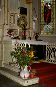 Altar St. Andreas Kirche Gesau