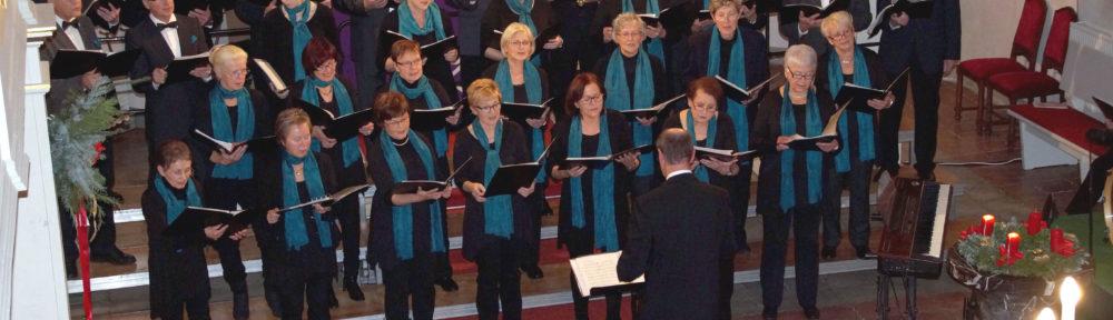 Weihnachtskonzert des Georgius-Agricola-Chor Glauchau in der Gesauer Kirche 2018