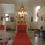 Altarraum der St. Andreas Kirche