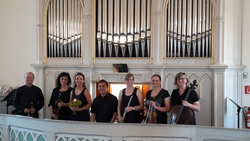 Musiker zum Kammerkonzert am 28. Juni in Dennheritz