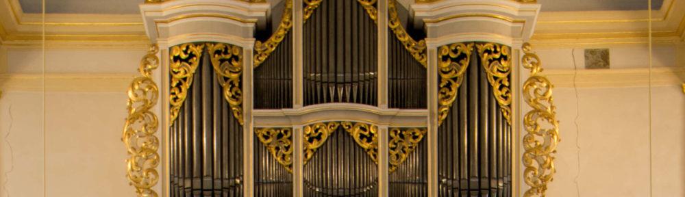 Silbermann Orgel in der St. Georgen Kirche zu Glauchau